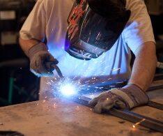 Welding 1-2 steel
